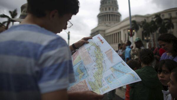 Turista en la Habana - Sputnik Mundo