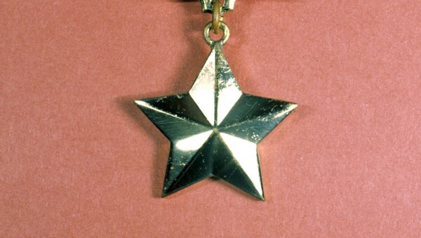 Medalla Estrella de Oro de Héroe de Rusia - Sputnik Mundo