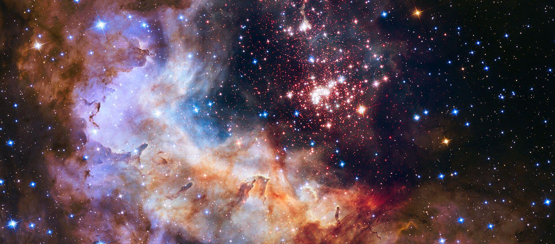 El espacio (foto hecha con el telescopio Hubble) - Sputnik Mundo, 1920, 25.05.2020