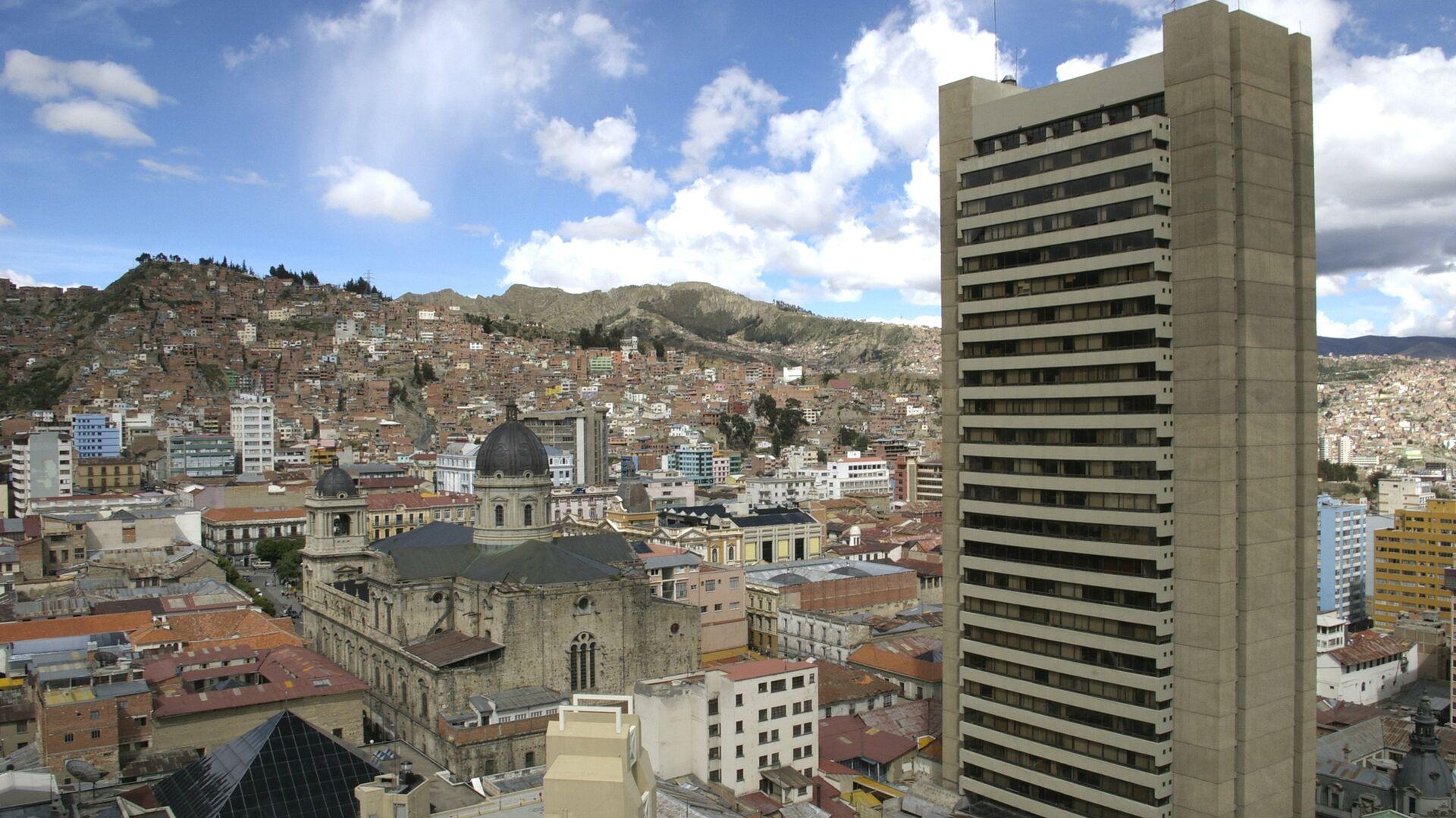 La Paz, la capital de Bolivia - Sputnik Mundo, 1920, 28.07.2021