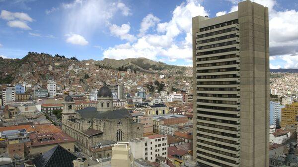 La Paz, la capital de Bolivia - Sputnik Mundo