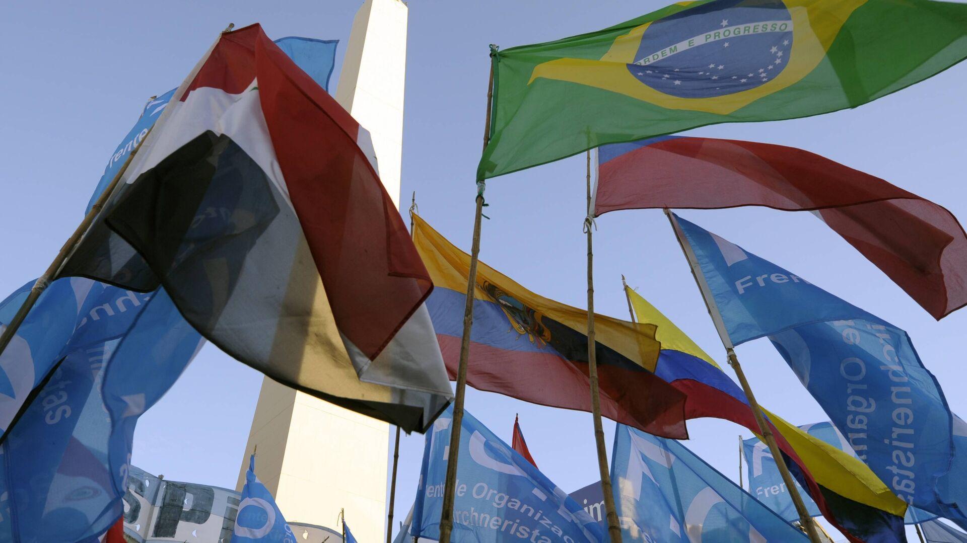 Banderas de Mercosur  - Sputnik Mundo, 1920, 29.09.2021