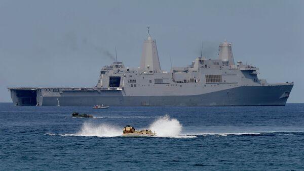 Maniobras conjuntas de EEUU y Filipinas en el Mar de la China Meridional (Archivo) - Sputnik Mundo
