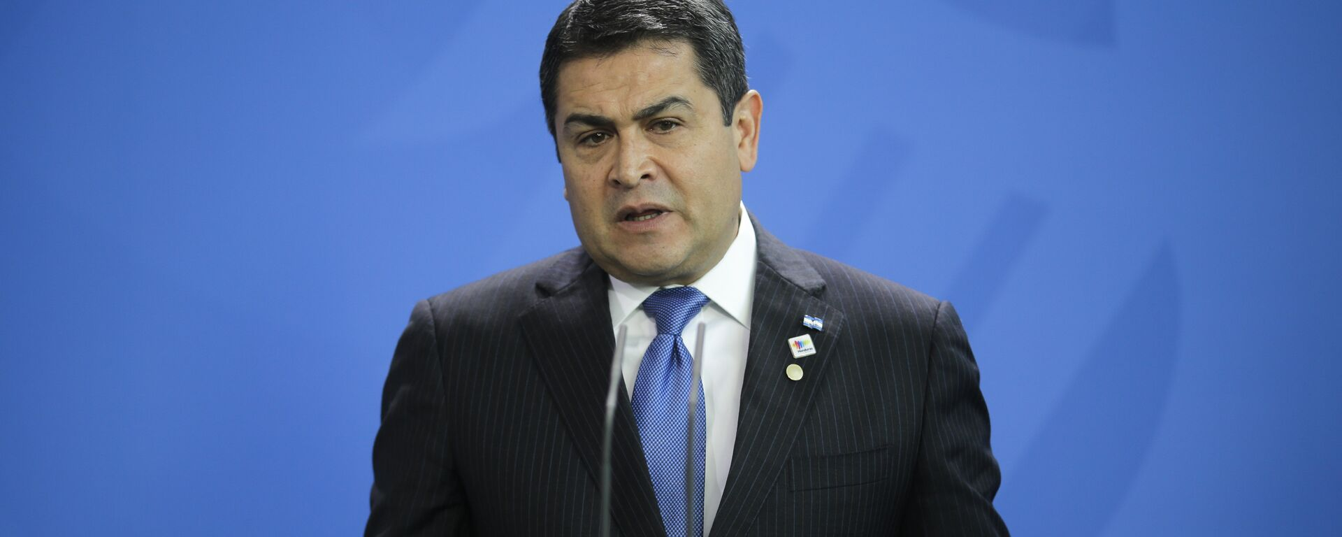 Juan Orlando Hernández, presidente de Honduras - Sputnik Mundo, 1920, 31.01.2021