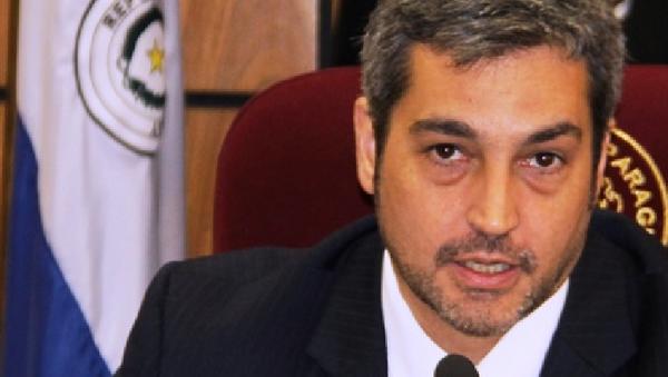 Mario Abdo Benítez, Presidente de la Cámara de Senadores de Paraguay - Sputnik Mundo