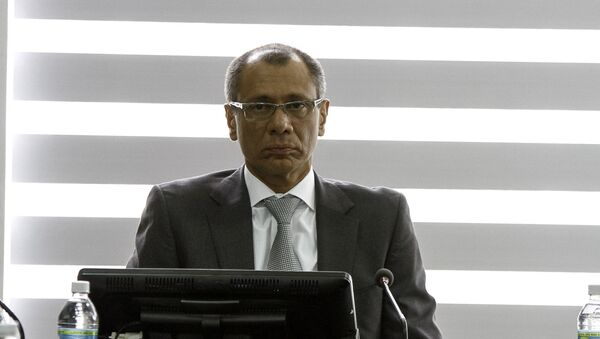Jorge Glas, vicepresidente de Ecuador (archivo) - Sputnik Mundo