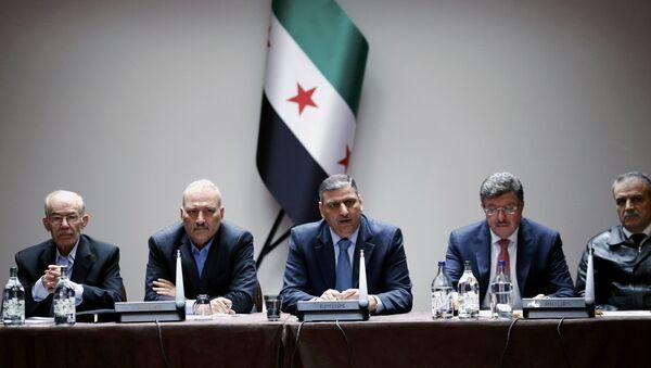 Miembros del Alto Comité de Negociaciones (archivo) - Sputnik Mundo