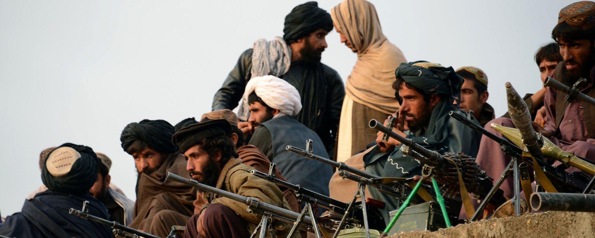 Combatientes de Talibán en Afganistán (archivo) - Sputnik Mundo, 1920, 26.03.2021