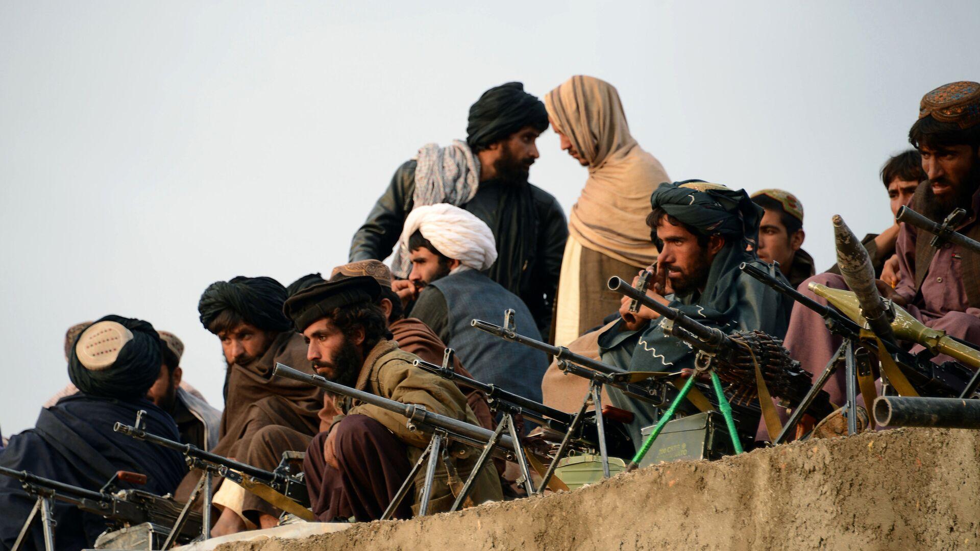 Combatientes de Talibán en Afganistán (archivo) - Sputnik Mundo, 1920, 31.07.2021
