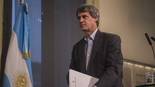 Alfonso Prat-Gay, ministro de Hacienda y Finanzas de Argentina - Sputnik Mundo