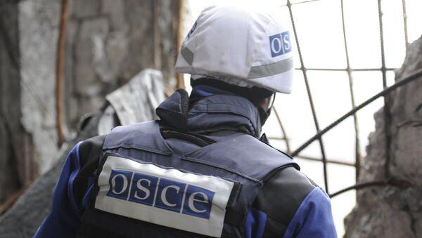 Observador de la OSCE en Donbás - Sputnik Mundo