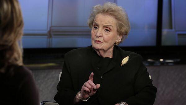 Madeleine Albright - Sputnik Mundo