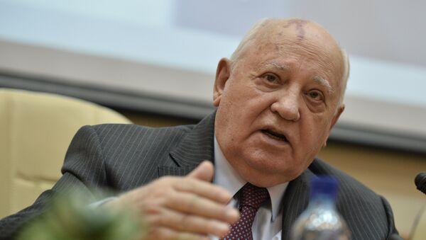 Mijaíl Gorbachov, expresidente de la URSS - Sputnik Mundo