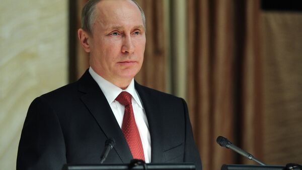 Vladimir Putin attends FSB board meeting - Sputnik Mundo