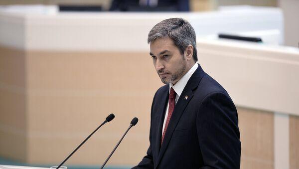 Mario Abdo Benítez, presidente electo de Paraguay - Sputnik Mundo