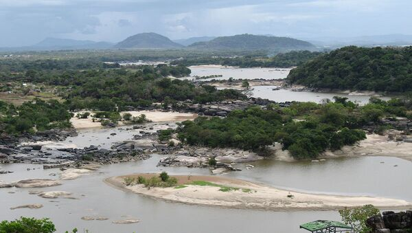 El río Orinoco cerca al aeropuerto de Puerto Ayacucho, Venezuela. - Sputnik Mundo