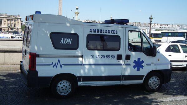 Vehículo de ambulancia en Francia (archivo) - Sputnik Mundo