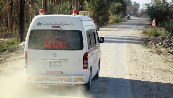 Ambulancia iraquí - Sputnik Mundo