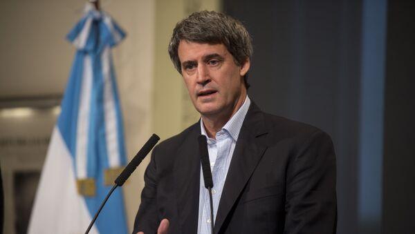 Alfonso Prat-Gay, ministro argentino de Hacienda y Finanzas Públicas - Sputnik Mundo