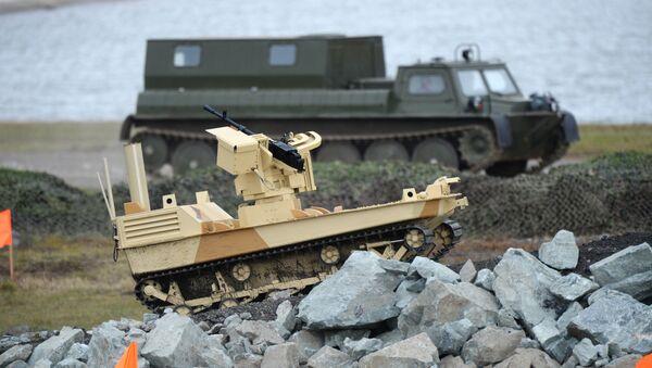 Robot militar ruso - Sputnik Mundo