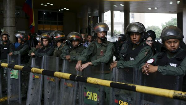 Guardia Nacional Bolivariana - Sputnik Mundo