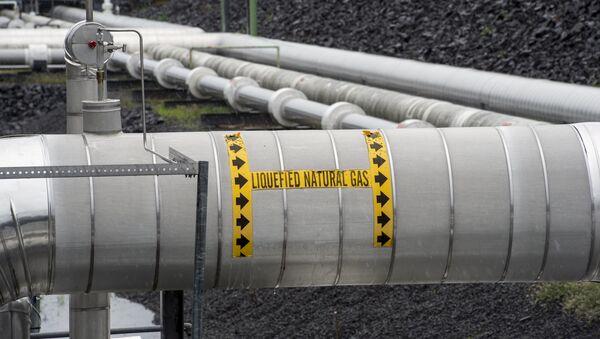 Tuberías de gas licuado - Sputnik Mundo