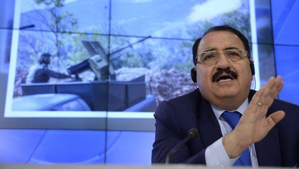 Riad Haddad, embajador de Siria en Moscú - Sputnik Mundo