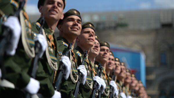 Ensayo general del Desfile de la Victoria en la Plaza Roja de Moscú - Sputnik Mundo