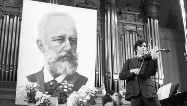 El retrato de Piotr Chaikovski - Sputnik Mundo