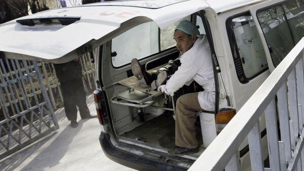 Ambulancia afgana (archivo) - Sputnik Mundo