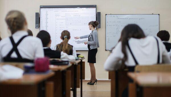 Escolares rusos - Sputnik Mundo