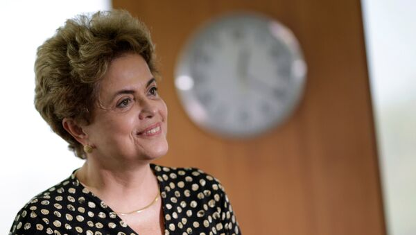 Dilma Rousseff, presidente de Brasil - Sputnik Mundo