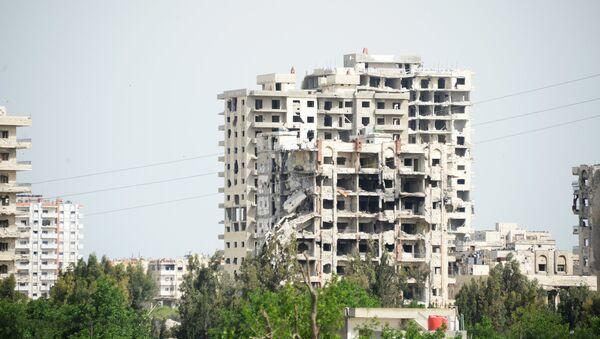 La ciudad siria de Homs (archivo) - Sputnik Mundo
