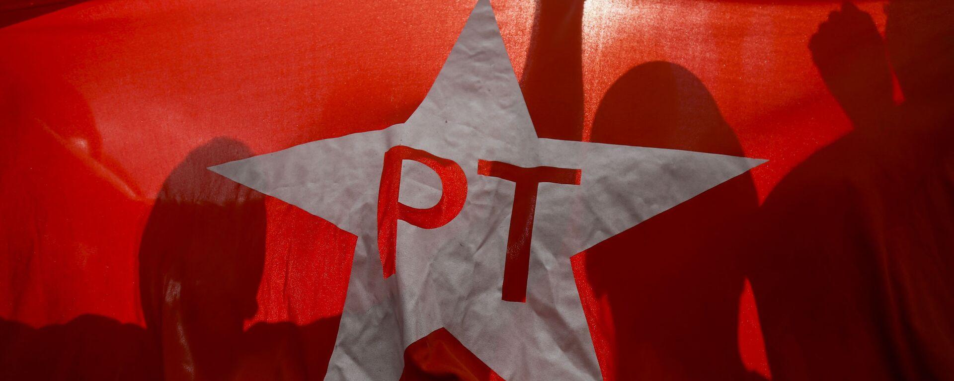 Bandera del Partido de los Trabajadores - Sputnik Mundo, 1920, 06.08.2021