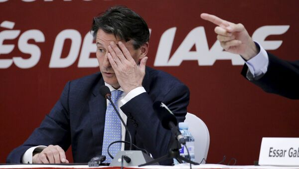 Sebastian Coe, el presidente de la Federación Internacional de Atletismo - Sputnik Mundo