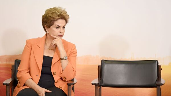 La presidenta de Brasil Dilma Rousseff - Sputnik Mundo