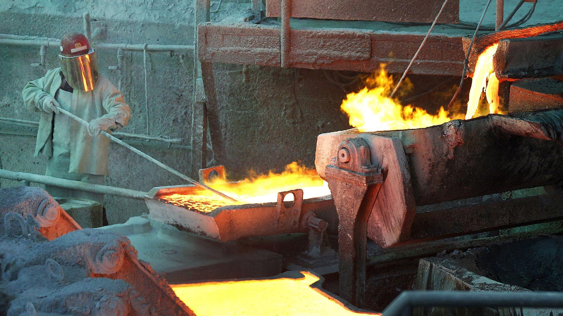 El procesamiento del cobre en Chile - Sputnik Mundo, 1920, 31.03.2021