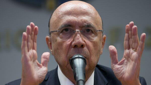 Henrique Meirelles, el nuevo ministro de Finanzas de Brasil - Sputnik Mundo
