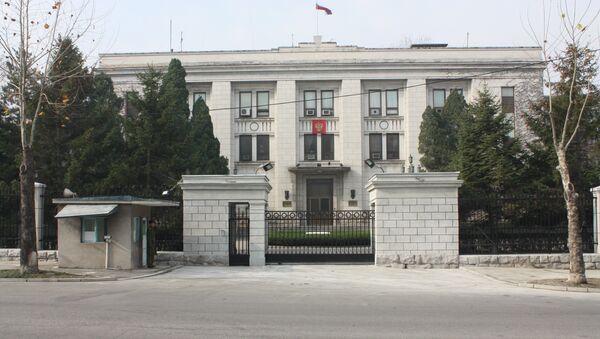 Embajada de Rusia en Corea del Norte - Sputnik Mundo