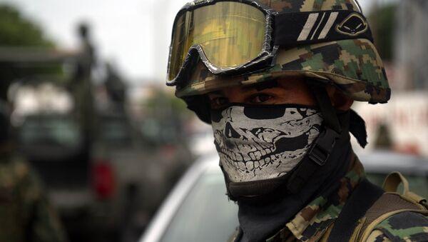 Un soldado mexicano (Archivo) - Sputnik Mundo