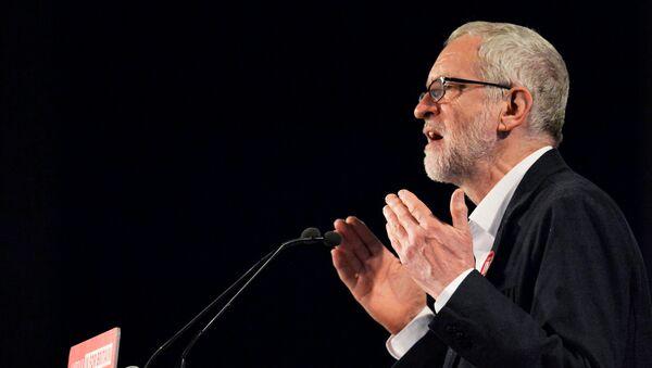 Jeremy Corbyn, líder laborista de Reino Unido - Sputnik Mundo