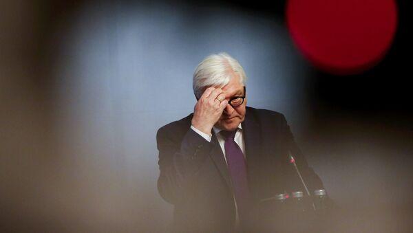 Bundesaußenminister Frank-Walter Steinmeier - Sputnik Mundo