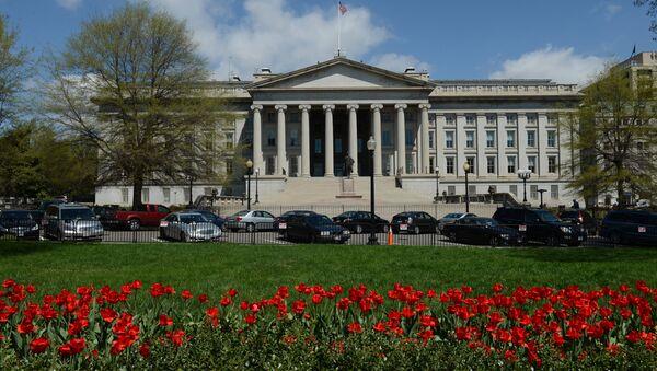 El Departamento del Tesoro de los Estados Unidos - Sputnik Mundo