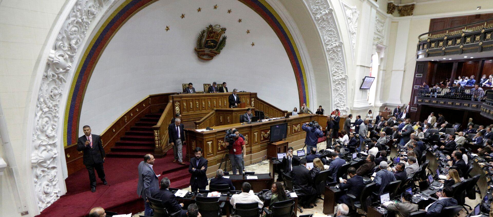Asamblea Nacional de Venezuela  - Sputnik Mundo, 1920, 14.01.2021