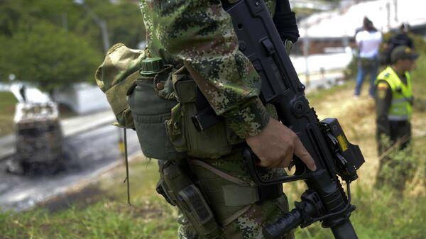 Policía colombiana - Sputnik Mundo