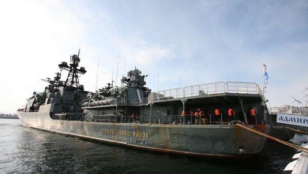 Buque antisubmarino Admiral Vinográdov - Sputnik Mundo