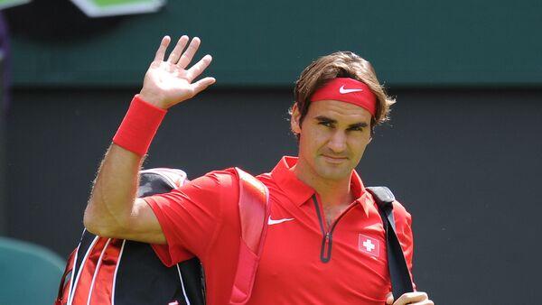 El tenista suizo Roger Federer - Sputnik Mundo