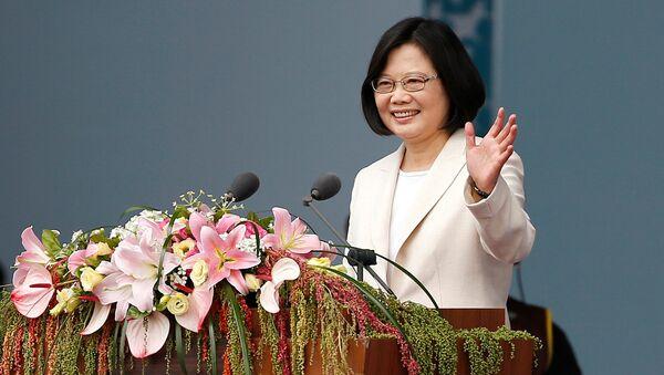 Presidenta de Taiwán, Tsai Ing-wen - Sputnik Mundo