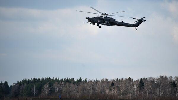 Helicóptero Mi-28N (archivo) - Sputnik Mundo