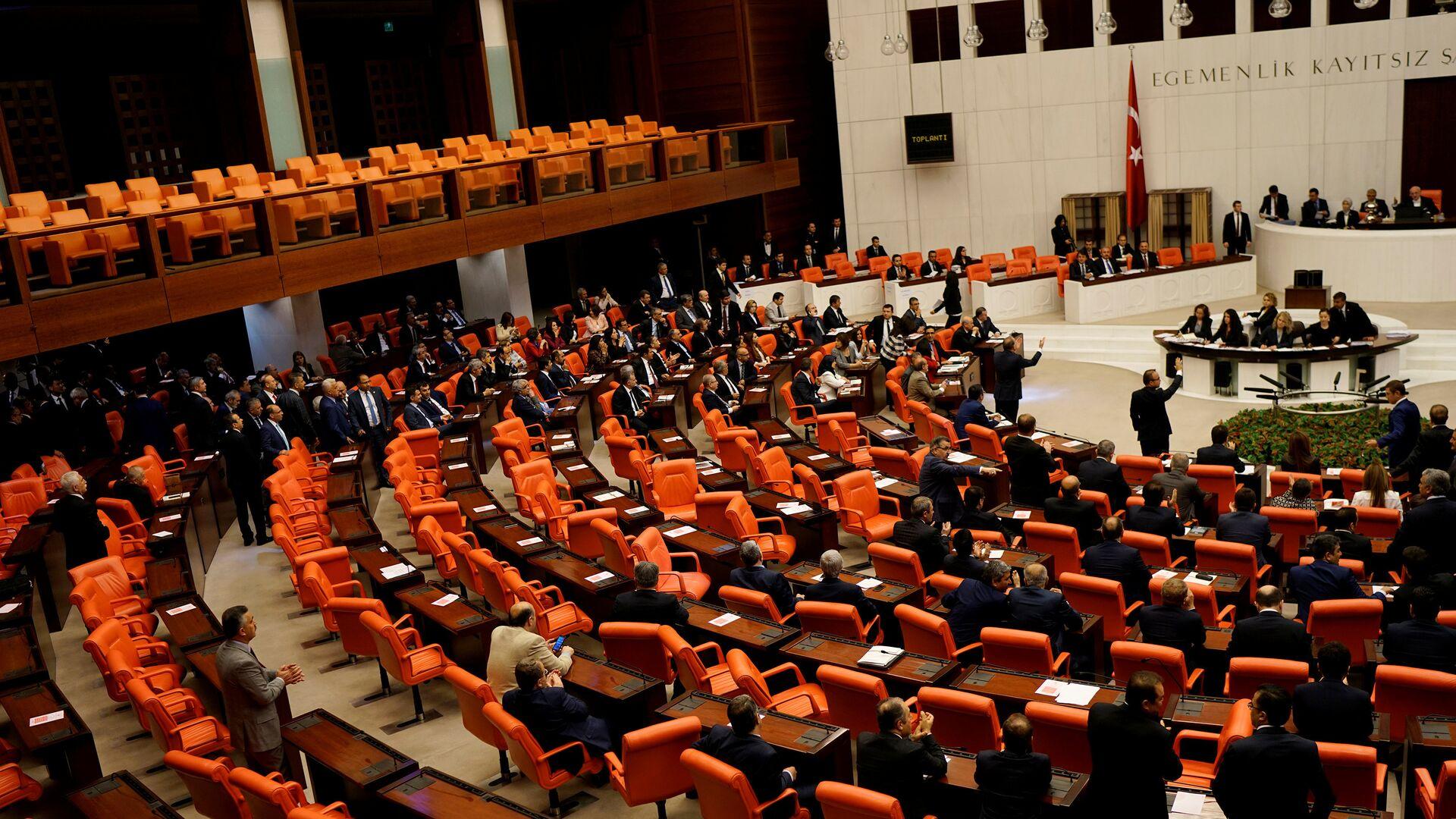 El Parlamento de Turquía - Sputnik Mundo, 1920, 06.10.2021